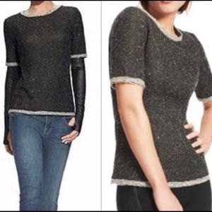 Cabi Coco Shell short sleeve sweater